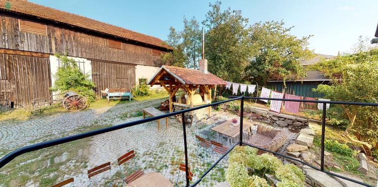 Bild aus virtuellen Rundgang der Museumsscheune Kunaths Hof | 3Dimpuls aus Wachau